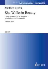 Brown, M: She Walks in Beauty