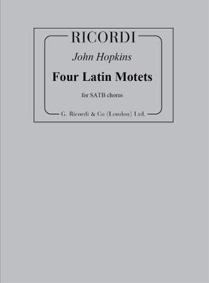 John H. Hopkins: Four Latin Motets