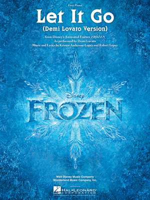 Kristen Anderson-Lopez_Robert Lopez: Let It Go (from Frozen) Product Image