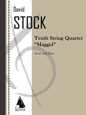 David Stock: String Quartet No. 10