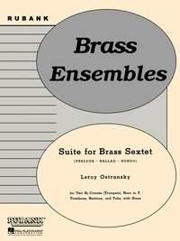Leroy Ostransky: Suite For Brass Sextet