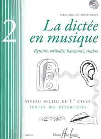 Menut/Chepelov: La dictée en musique Vol.2 - milieu du 1er cycle
