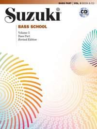 Suzuki Bass School Bass Part & CD, Volume 3 (Revised)