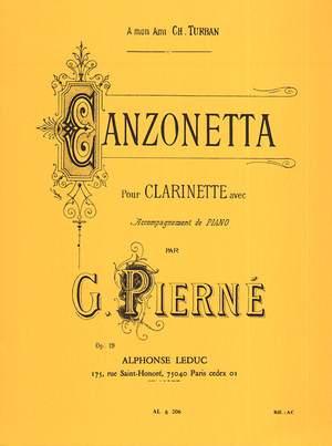Pierne: Canzonetta Op.19