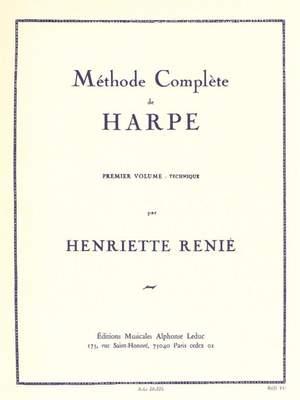 Henriette Renié: Méthode Complète de Harpe Vol. 1