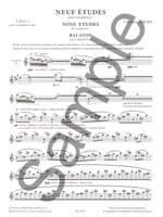 Christian Lauba: Neuf Etudes pour Saxophones Product Image