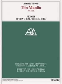 Antonio Vivaldi: Tito Manlio RV 738