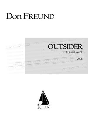 Don Freund: Outsider for Wind Ensemble