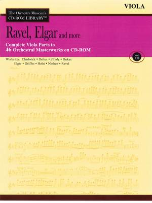 Edward Elgar_Maurice Ravel: Ravel, Elgar and More - Volume 7