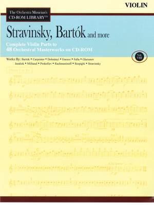 Béla Bartók_Igor Stravinsky: Stravinsky, Bartók and More - Vol. 8-Violin