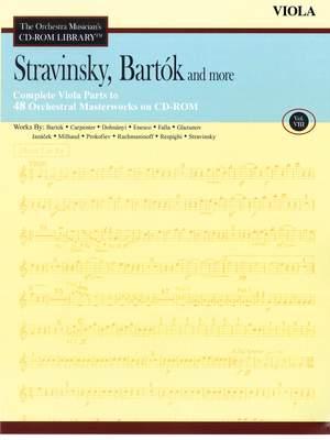 Béla Bartók_Igor Stravinsky: Stravinsky, Bartók and More - Vol. 8-Viola