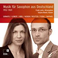 Music for Saxophone from Germany