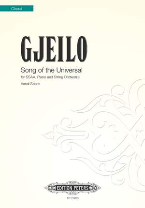Gjeilo: Song of the Universal