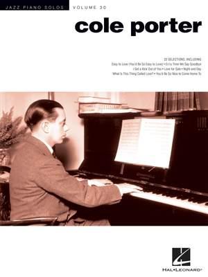 Cole Porter Jazz Piano Solos Volume 30