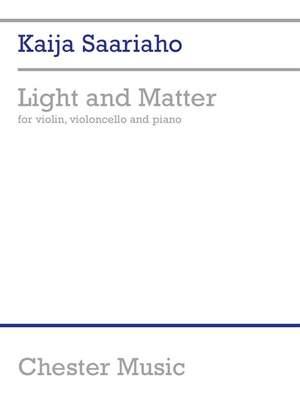 Kaija Saariaho: Kaija Saariaho: Light And Matter