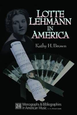 Lotte Lehman in America