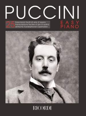Giacomo Puccini: Puccini - Easy Piano Product Image