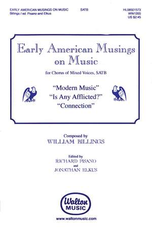 William Billings: Early American Musings on Music Product Image