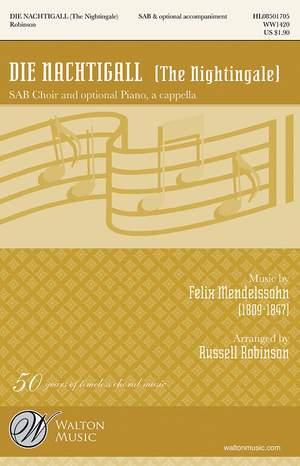 Felix Mendelssohn Bartholdy: Die Nachtigall