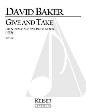 David Baker: Give and Take