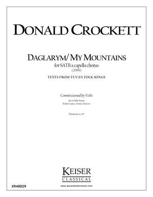 Donald Crockett: Daglarym/My Mountains
