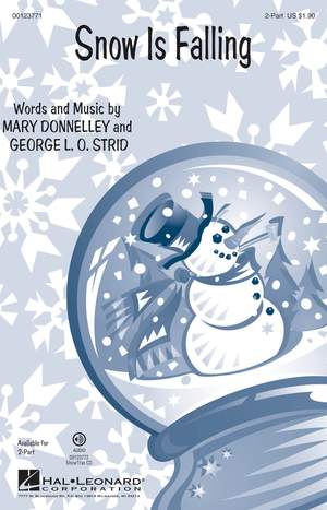 George L.O. Strid: Snow Is Falling