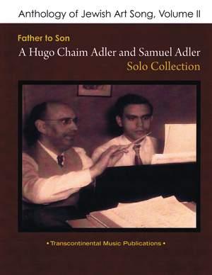 Samuel Adler: Anthology of Jewish Art Song, Vol. 2