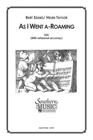 Burt Szabo: As I Went A Roaming