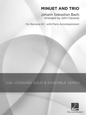 Johann Sebastian Bach: Minuet and Trio Product Image