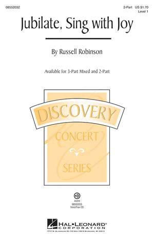 Russell L. Robinson: Jubilate, Sing with Joy