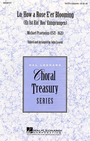Michael Praetorius: Lo, How a Rose E'er Blooming