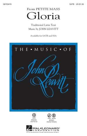 John Leavitt: Gloria