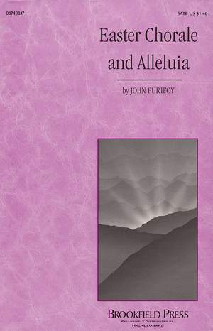 Charles Wesley_John Purifoy: Easter Chorale and Alleluia Product Image