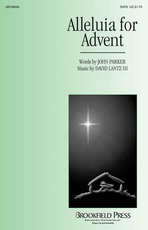 John Parker/David Lantz III: Alleluia for Advent Product Image