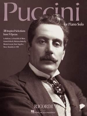 Giacomo Puccini: Puccini for Piano Solo