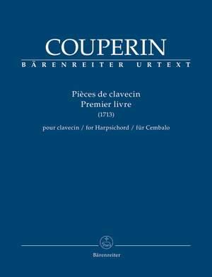 Couperin, François: Pièces de clavecin Premier livre Product Image