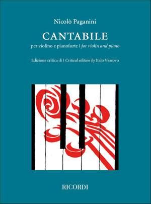 Niccolò Paganini: Cantabile Product Image