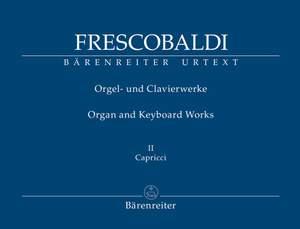 Frescobaldi, Girolamo: Il Primo Libro di Capricci fatti sopra diversi Soggetti, et Arie (Rom, Soldi, 1624)