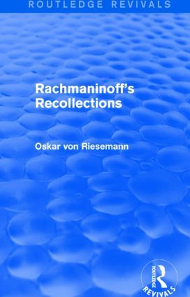 Rachmaninoff's Recollections