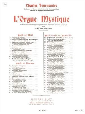 Charles Tournemire: L'Orgue mystique Vol.26