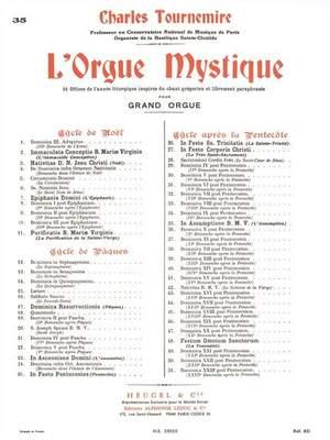Charles Tournemire: L'Orgue Mystique Vol.35