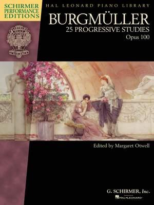 Friedrich Burgmüller: 25 Progressive Studies, Op. 100