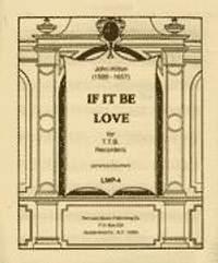 J. Hilton: If It Be Love
