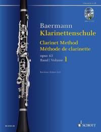 Baermann, C: Clarinet Method op. 63 Band 1: No. 1-33