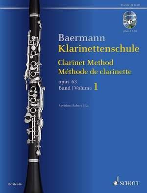 Baermann, C: Clarinet Method op. 63 Band 1: No. 1-33 Product Image