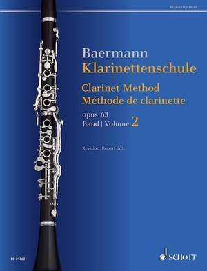 Baermann, C: Clarinet Method op. 63 Band 2: No. 34-52 Product Image