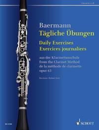 Baermann, C: Daily Exercises op. 63