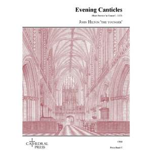Hilton The Younger: Evening Canticles (Short Service in Gamut) Product Image