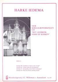 Harke Iedema: 4 Koraalbewerkingen Uit Liedboek Voor De Kerken 2