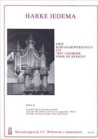 Harke Iedema: 3 Koraalbewerkingen Uit Liedboek Voor De Kerken 3